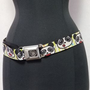 Cadillac Seatbelt Buckle Panda Belt